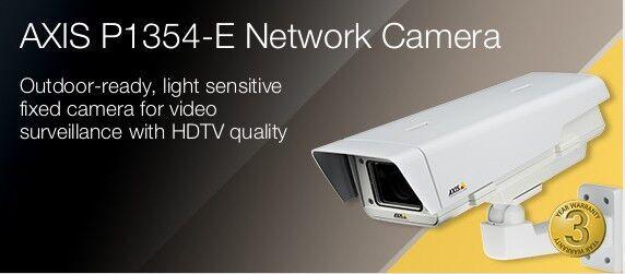 AXIS P1354 IP NET Network Camera 1MP// HDTV 720p Lightfinder